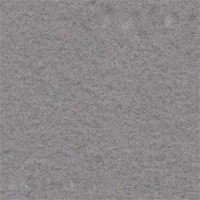 Licht grijs naaldvilt stretch wandbekleding 200 cm breed