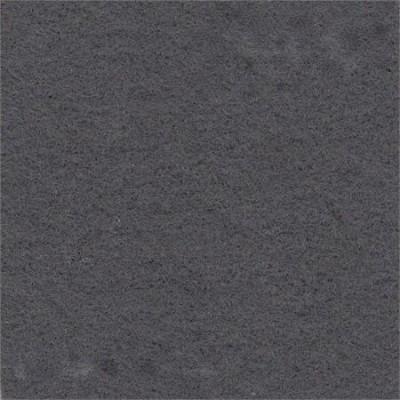 Donkergrijs naaldvilt stretch wandbekleding 200 cm breed